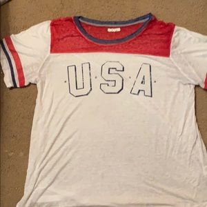 USA shirt from maurice's ONLY WORN ONCE* size- 2xl